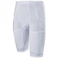 Cramer Classic 5-Pocket Football Girdle w/ Drawstring Waist, White