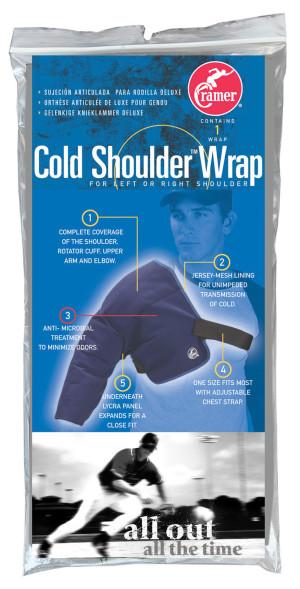 COLD SHOULDER WRAP