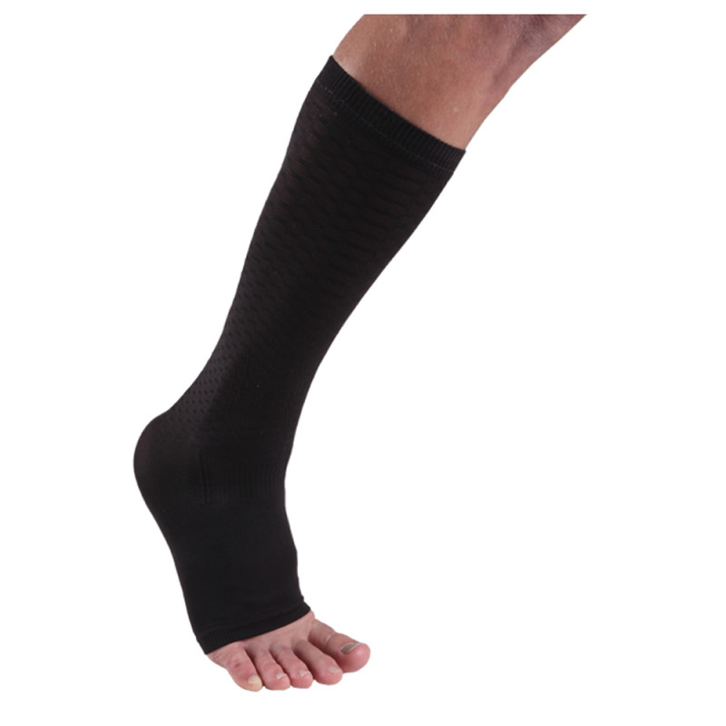 Cramer Endurance Support System Ankle Compression Sleeve, Pair, Large