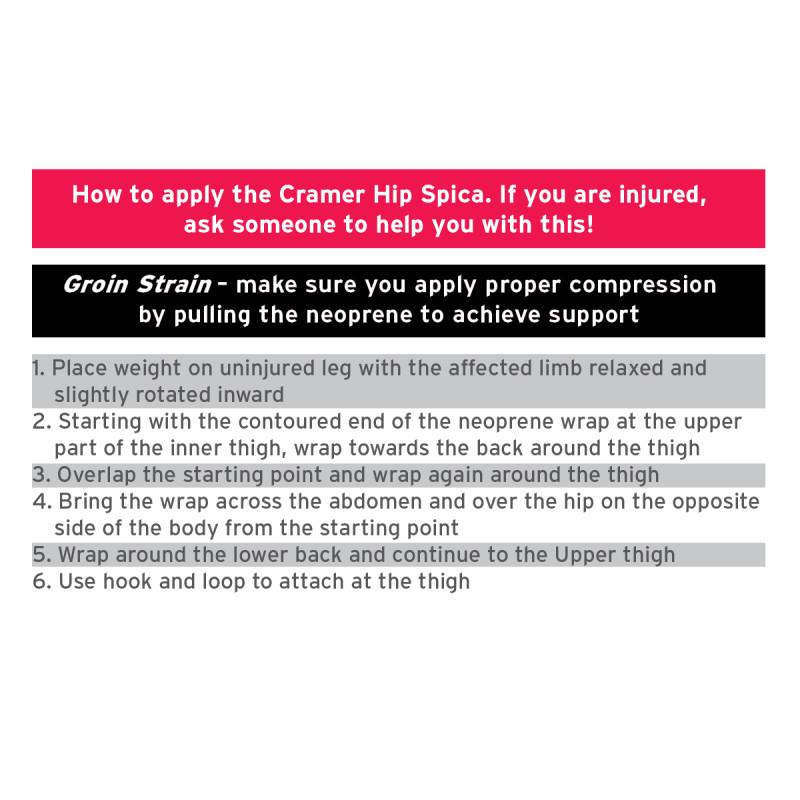 Cramer Groin Hip Spica Support
