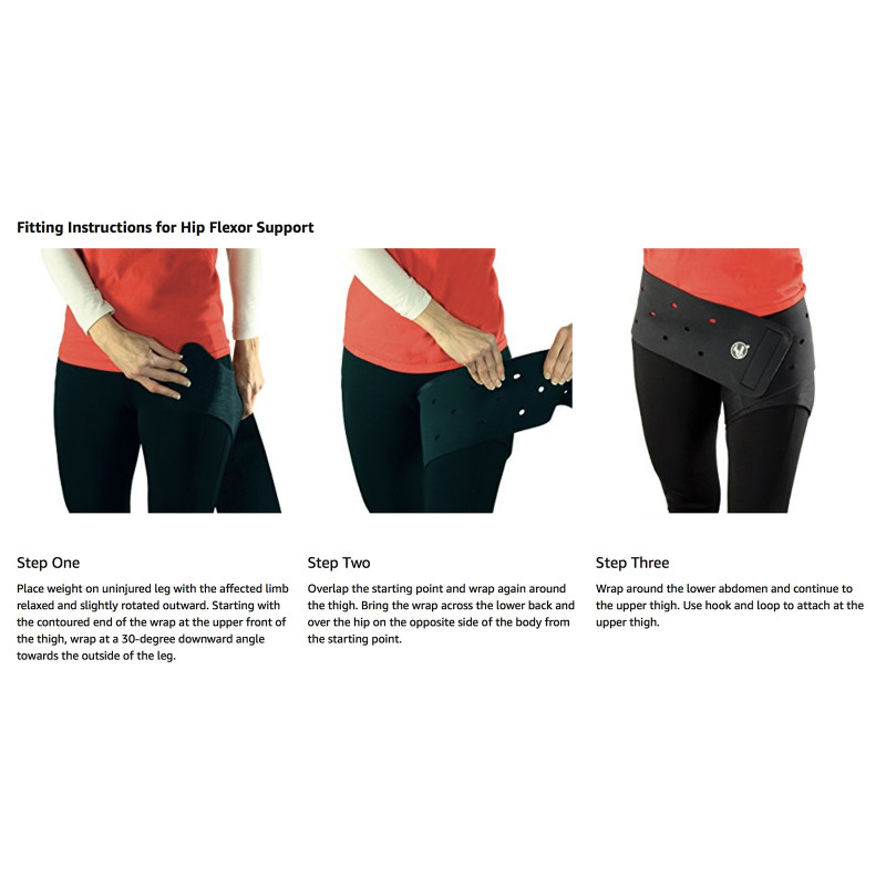 Cramer Groin Hip Spica Support Hip Flexor Wrapping Instructions