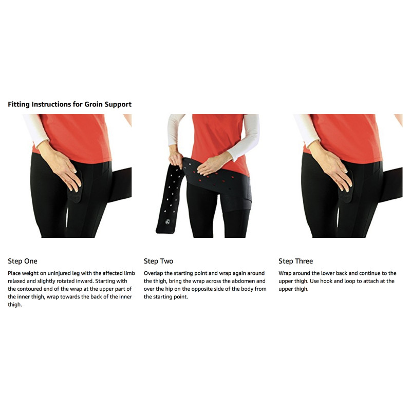 Cramer Groin Hip Spica Support Groin Wrapping Instructions